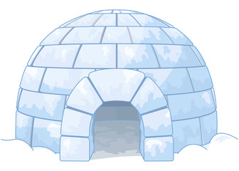 Wall Murals Fairytale World Igloo