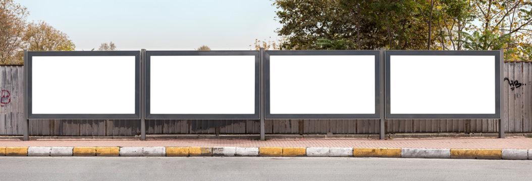 Four billboards