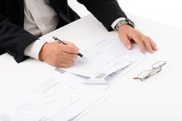 ビジネス承認サイン