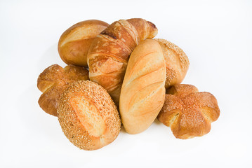 Different Kinds Of Bread And Pastry