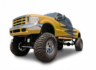 Lifted 4x4 Truck