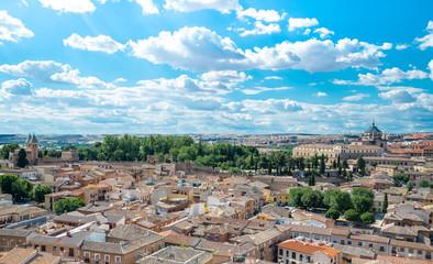 Toledo panorama skyline. Toledo is capital of province of Toledo