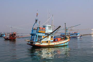 Fishing ship in Andaman sea