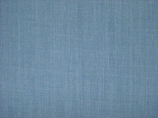 Blue cotton fabric texture