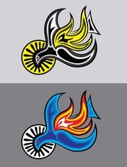 Holy spirit, art vector design