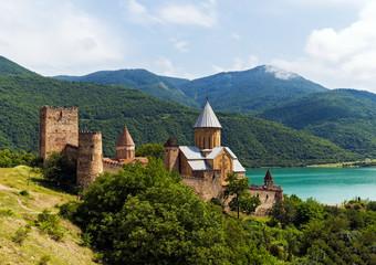 The Ananuri Fortress in Georgia
