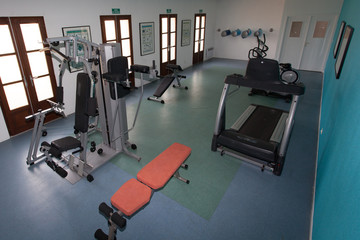 fitness place room center sport