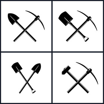 Set of Tools for Excavation