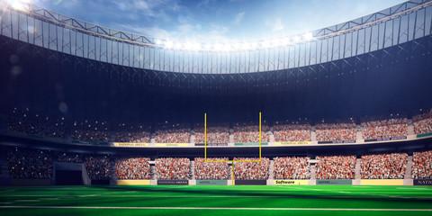 Football Arena Stadium Day render