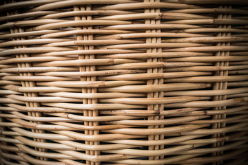 Wall Mural - Rattan basketry pattern  background 1