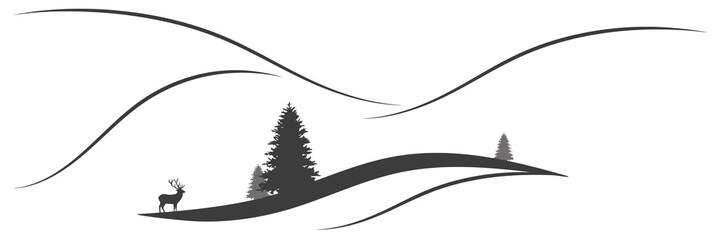 Panorama Berglandschaft
