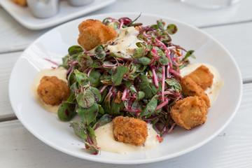 Schnitzel Salad