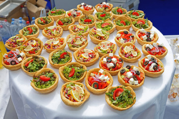 Canapes Pastry