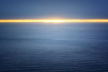Midnight sun at North Cape, Norway