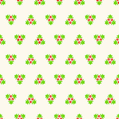 Christmas seamless background