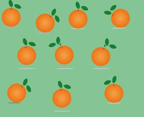 naranjas redondas