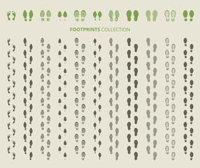Shoes imprints