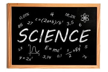 Science Chalkboard