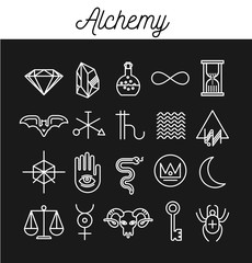 Alchemy Icon Set