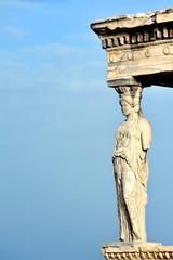 Caryatid at Acropolis of Athens