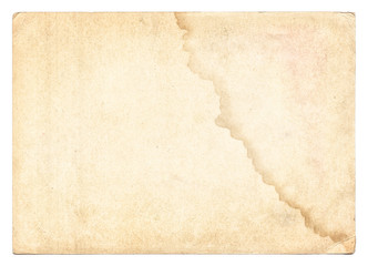Vintage old paper texture isolated