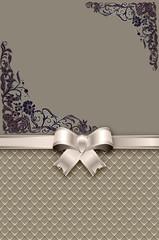 Wall Mural - Decorative background for invitation card design.