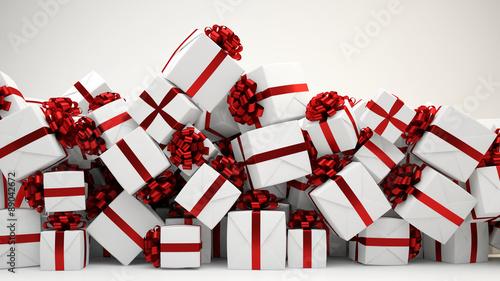 viele geschenke zu weihnachten als haufen stockfotos und. Black Bedroom Furniture Sets. Home Design Ideas