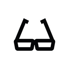 Eyeglasses Vector Icon
