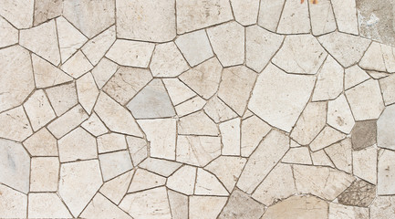 Marble mosaic texture