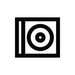 Cd Case Vector Icon