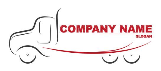 Gezeichneter Truck | LKW | Logo