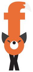 alphabet. Fox