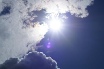 wolken sonne