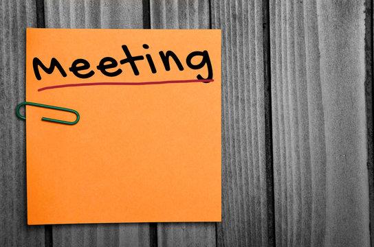 Meeting word