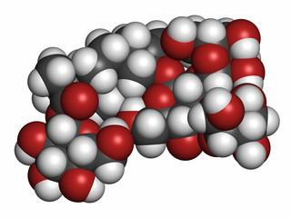 Rebaudioside A molecule.