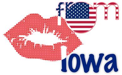 Kiss from Iowa