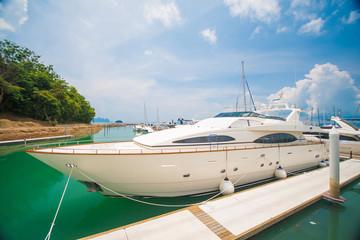 harbor at Ao Po Grandmarina Phuket, Thailand