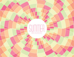 Summer mosaic