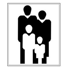 Piktogramm für Familie