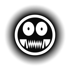 Monster button.