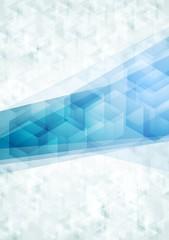 Concept abstract tech vector background