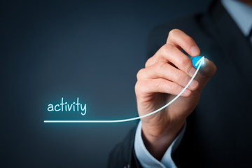 Activity increase