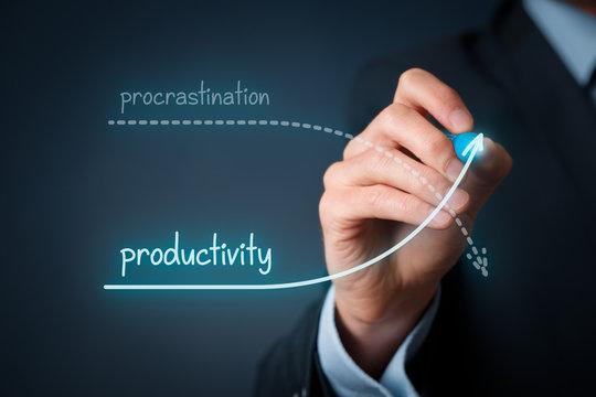 Procrastination vs. productivity