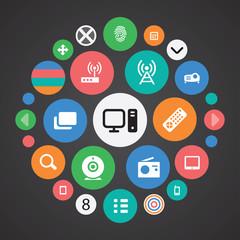 device icons universal set