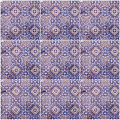 Fotomurales - Background collage. Ceramic tile, Azulejo, Lisbon