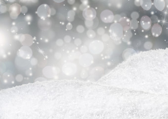 Winter Weihnachts Hintergrund