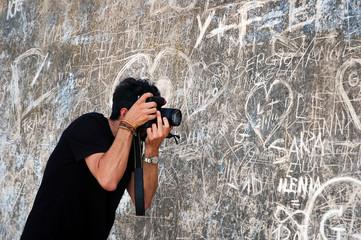 Fotografo e graffiti
