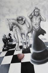 Das lebendige Schachbrett