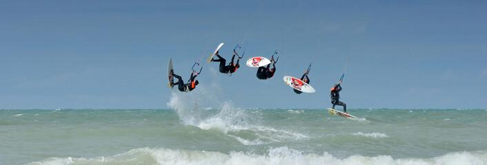 looping arrière en kitesurf