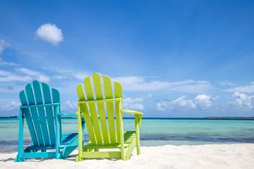 Wall Murals Caribbean Caribbean Beach Chair